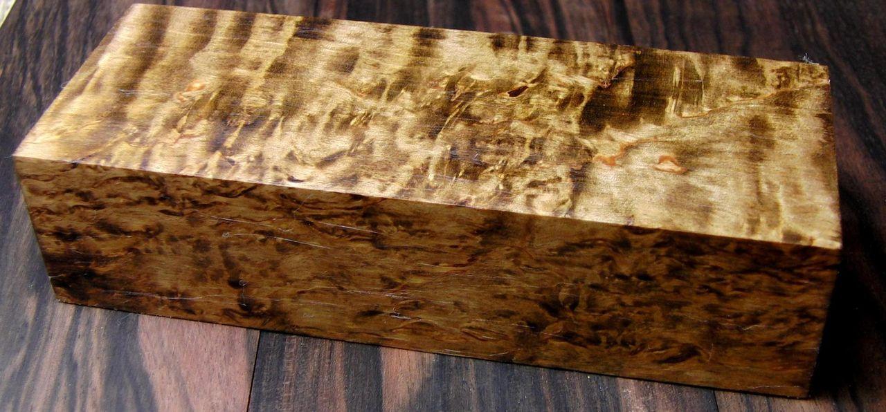 береза карельская древесина